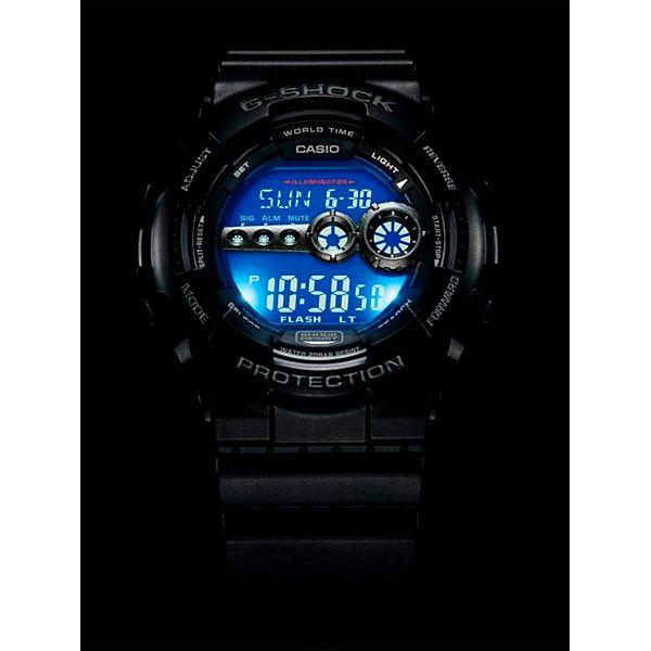 Relógio Casio G-SHOCK GD-100-1BDR Resistente a choques  - TREINIT