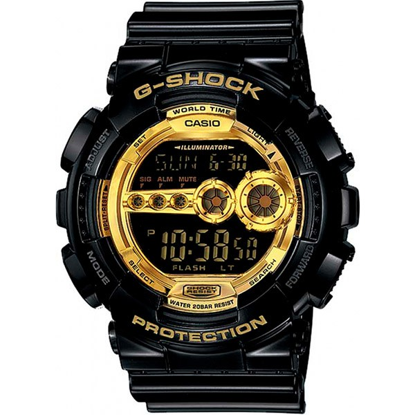Relógio Casio G-SHOCK GD-100GB-1DR Resistente a choques  - TREINIT