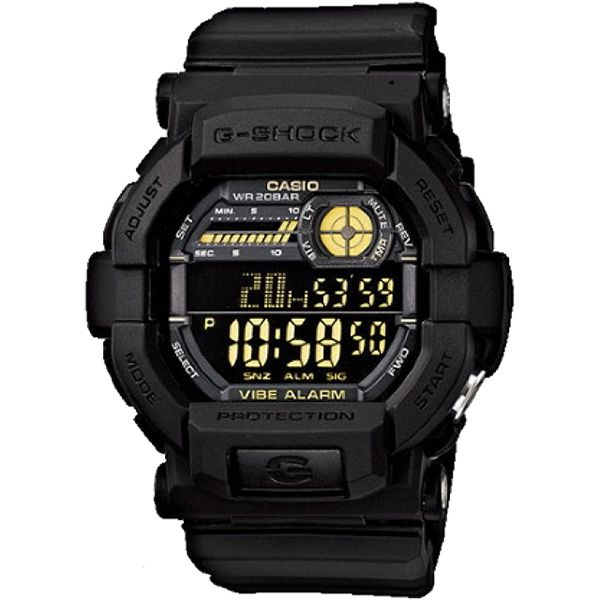 Relógio Casio G-Shock GD-350-1BDR Resistente a choques  - Treinit