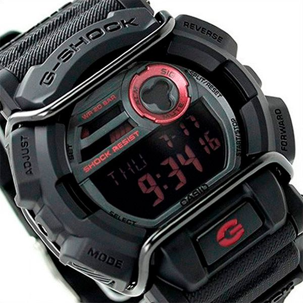 Relógio Casio G-Shock GD-400-1DR Resistente a choques  - TREINIT
