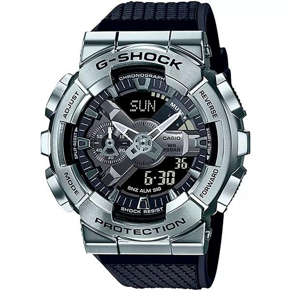 Relógio Casio G-Shock GM-110-1ADR Caixa em Aço Inoxidável  - TREINIT