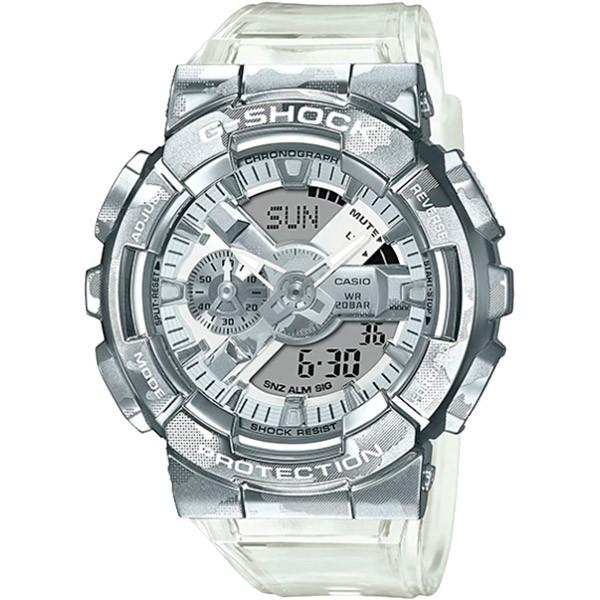 Relógio Casio G-Shock GM-110SCM-1ADR Caixa em Aço Inoxidável  - TREINIT