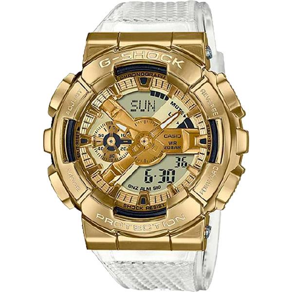 Relógio Casio G-Shock GM-110SG-9ADR Caixa em Aço Inoxidável  - TREINIT