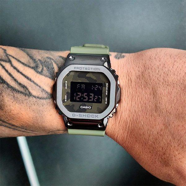 Relógio Casio G-Shock GM-5600B-3DR Caixa em Aço Inoxidável  - TREINIT