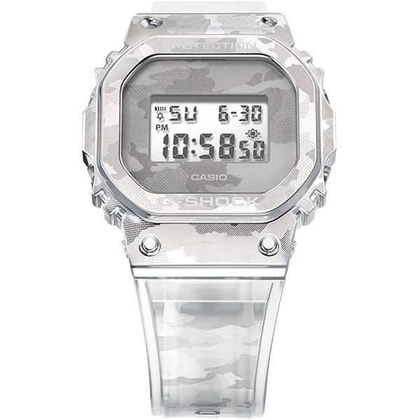 Relógio Casio G-Shock GM-5600SCM-1DR Caixa em Aço Inoxidável  - TREINIT