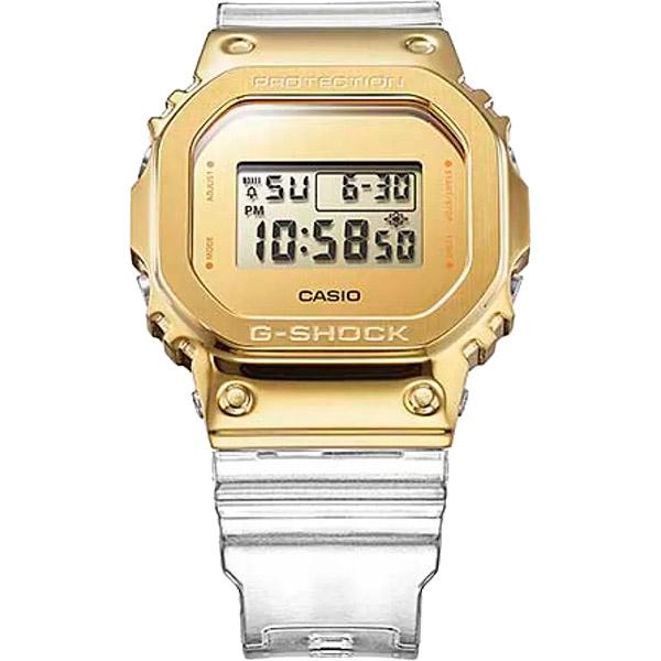 Relógio Casio G-Shock GM-5600SG-9DR Caixa em Aço Inoxidável  - TREINIT