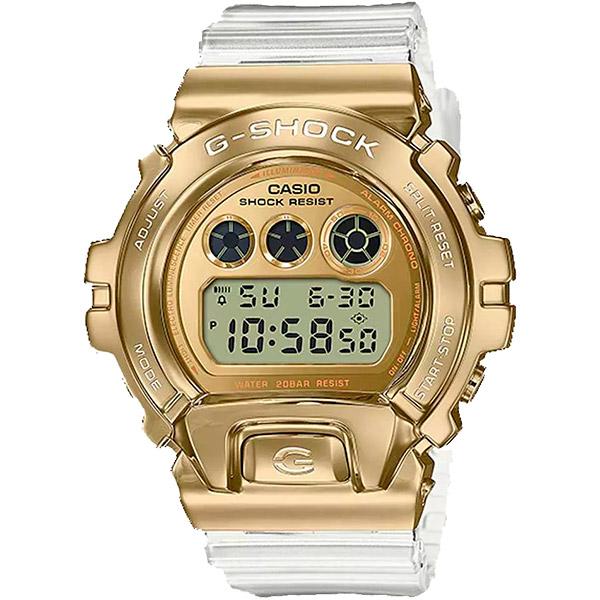 Relógio Casio G-Shock GM-6900SG-9DR Caixa em Aço Inoxidável  - TREINIT