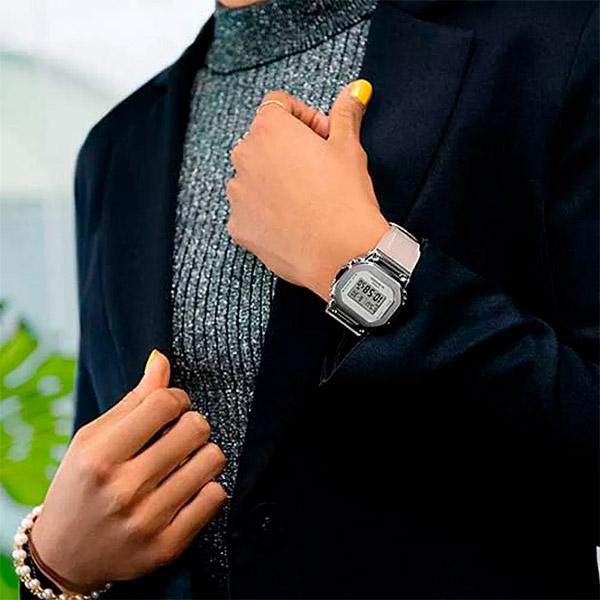 Relógio Casio G-Shock GM-S5600SK-7DR Caixa em Aço Inoxidável  - TREINIT