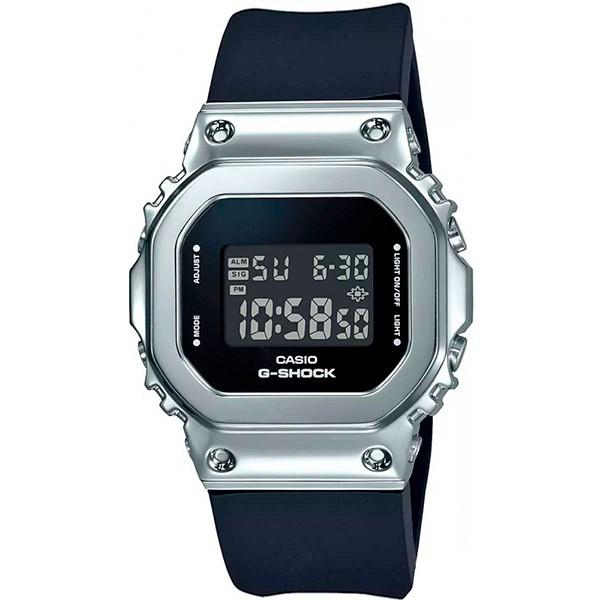 Relógio Casio G-Shock GM-S5600-1DR Caixa em Aço Inoxidável  - TREINIT