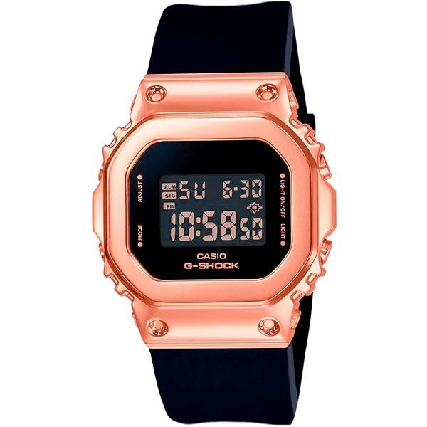 Relógio Casio G-Shock GM-S5600PG-1DR Caixa em Aço Inoxidável  - TREINIT