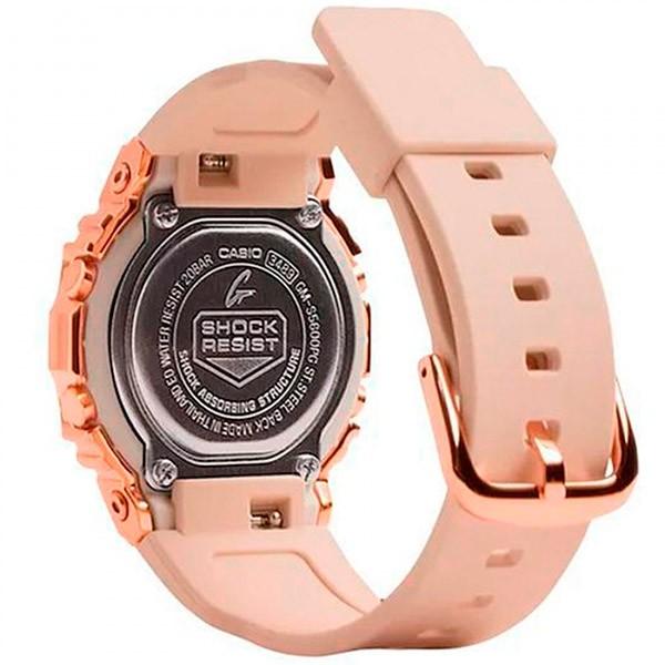 Relógio Casio G-Shock GM-S5600PG-4DR Caixa em Aço Inoxidável  - TREINIT