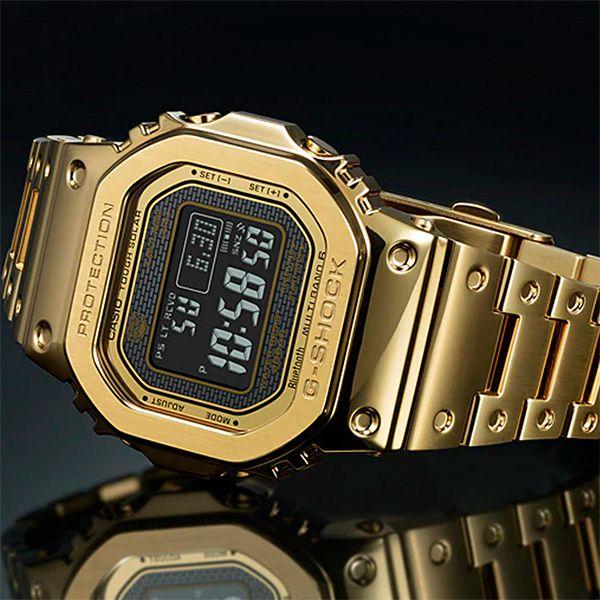 Relógio Casio G-Shock GMW-B5000GD-9DR Tough Solar e Bluetooth  - TREINIT