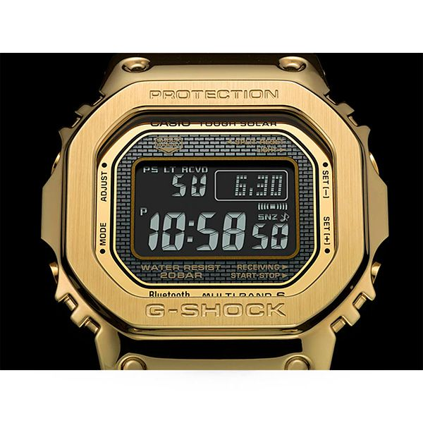 Relógio Casio G-Shock GMW-B5000GD-9DR Tough Solar e Bluetooth  - Treinit