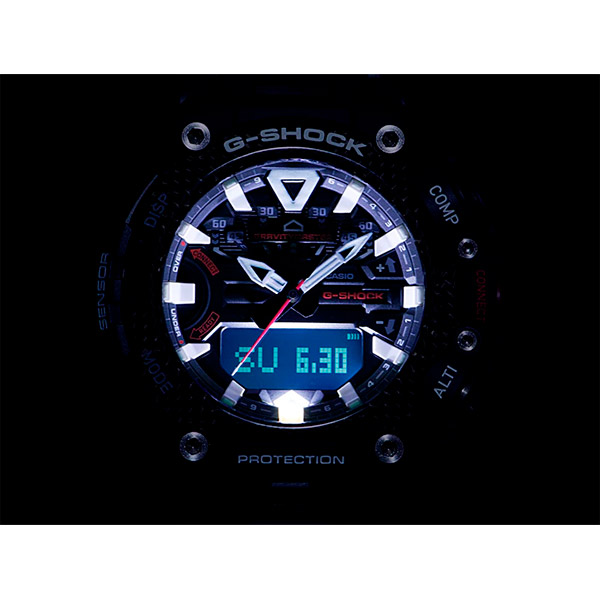 Relógio Casio G-Shock GRAVITYMASTER GR-B200-1A9DR Sensor Quad  - TREINIT