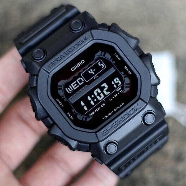 Relógio Casio G-Shock GX-56BB-1DR Black Tough Solar  - Loja Prime