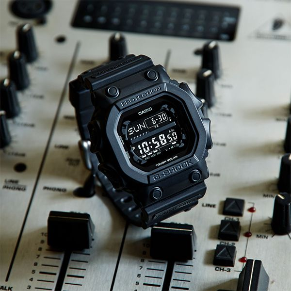 Relógio Casio G-Shock GX-56BB-1DR Black Tough Solar  - TREINIT
