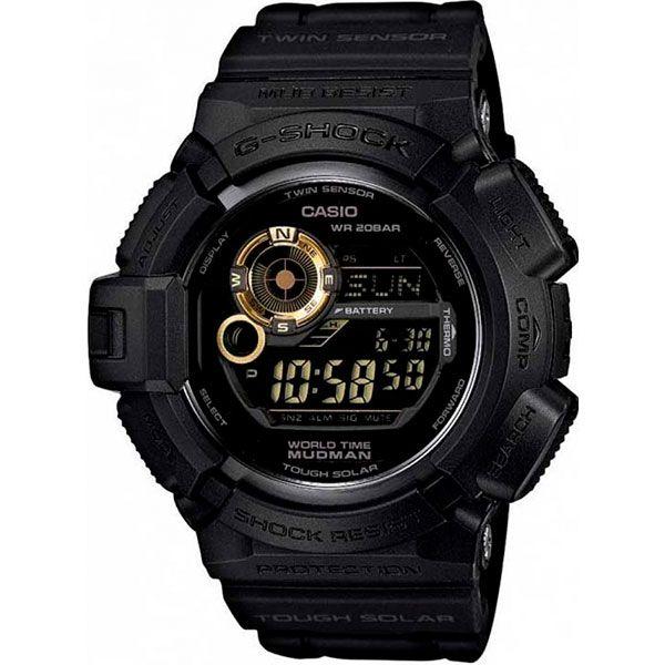 Relógio Casio G-Shock Mudman G-9300GB-1DR Resistente a choques  - Treinit