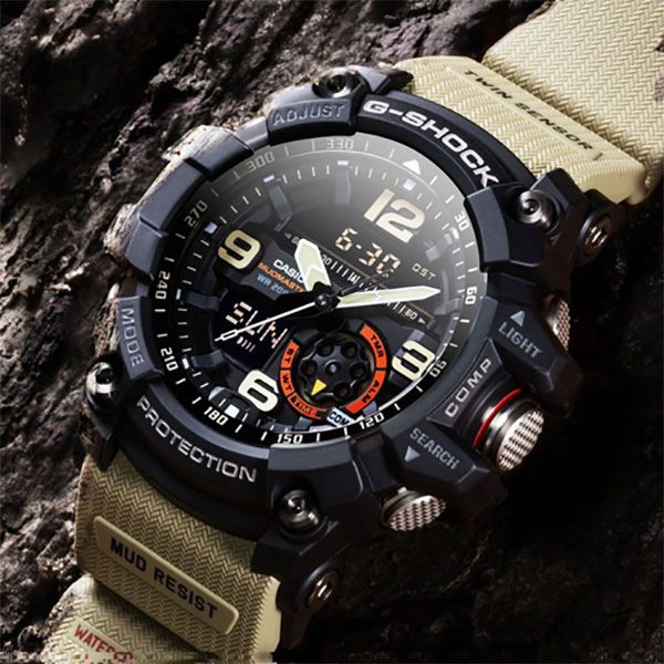 Relógio Casio G-Shock Mudmaster GG-1000-1A5DR Resistente a choques  - TREINIT