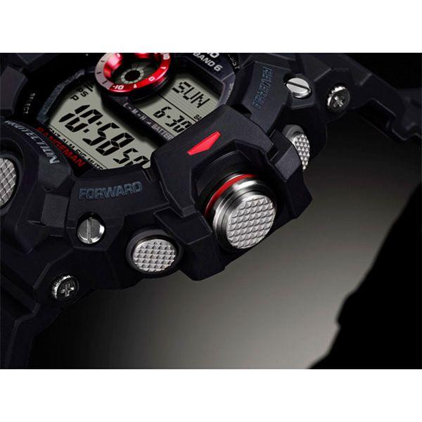 Relógio Casio G-Shock Rangeman GW-9400-1DR Sensor Triplo e Wave Ceptor  - Treinit
