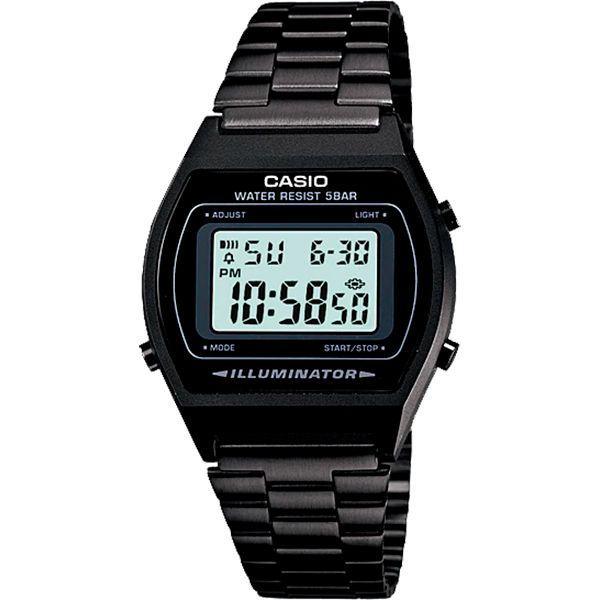 Relógio Casio Retrô Digital Vintage B640WB-1ADF Alarme Cronômetro  - TREINIT