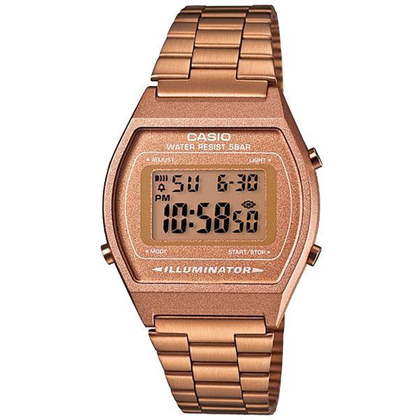 Relógio Casio Retrô Digital Vintage B640WC-5ADF Alarme Cronômetro  - Loja Prime