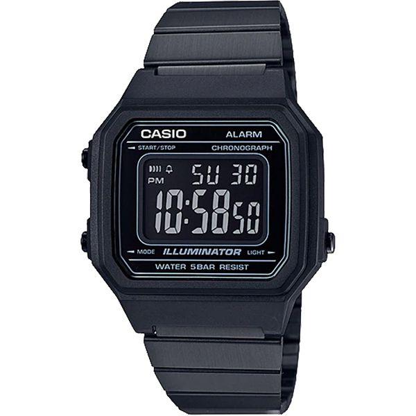 Relógio Casio Retrô Digital Vintage B650WB-1BDF Alarme Cronômetro  - Loja Prime