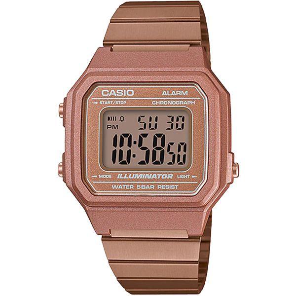 Relógio Casio Retrô Digital Vintage B650WC-5ADF Alarme Cronômetro  - Loja Prime