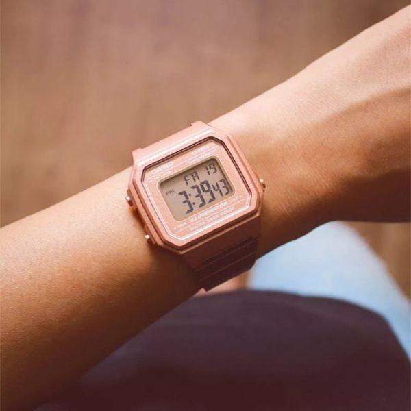 Relógio Casio Retrô Digital Vintage B650WC-5ADF Alarme Cronômetro  - TREINIT