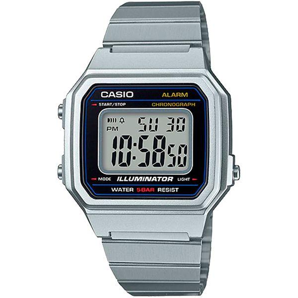 Relógio Casio Retrô Digital Vintage B650WD-1ADF Alarme Cronômetro  - TREINIT