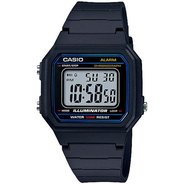 Relógio Casio W-217H-1AVDF Alarme Cronômetro  - Loja Prime