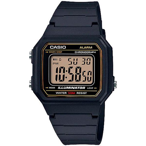 Relógio Casio W-217H-9AVDF Alarme Cronômetro  - Treinit