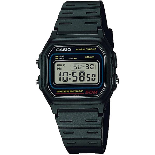 Relógio Casio W-59-1VQ Alarme Cronômetro  - TREINIT