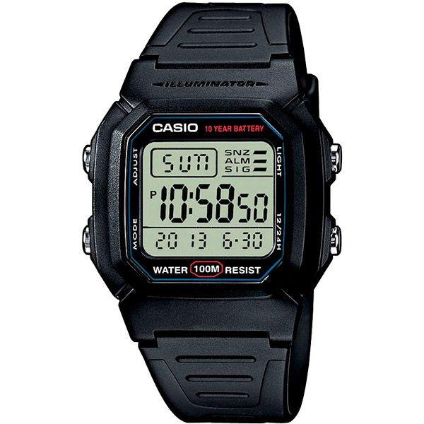 Relógio Casio W-800H-1AVDF  - TREINIT