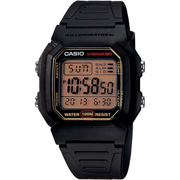 Relógio Casio W-800HG-9AVDF  - TREINIT