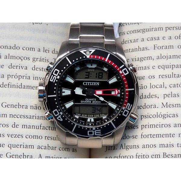 Relógio Citizen Aqualand ProMaster Água TZ10164T JP1090-86E  - TREINIT