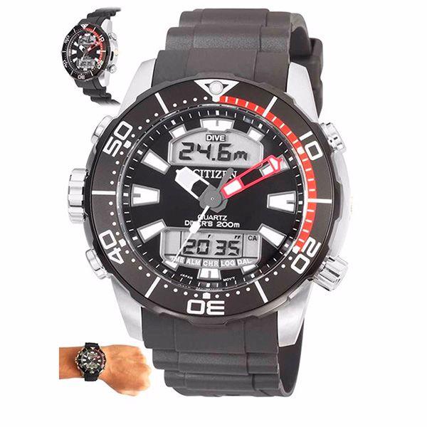 Relógio Citizen Aqualand ProMaster Água TZ10164V JP1098-17E  - TREINIT