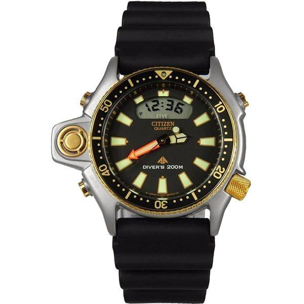 Relógio Citizen Aqualand Série Ouro JP2004-07E | Tz10137p  - Loja Prime