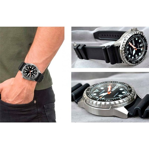 Relógio CITIZEN Automático Marine Sport NH8380-15E / TZ31123T  - TREINIT