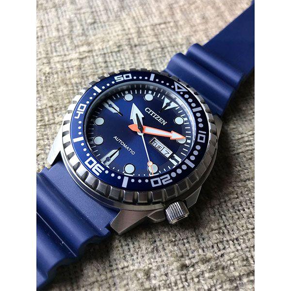 Relógio CITIZEN Automático Marine Sport NH8381-12L / TZ31123F  - Treinit