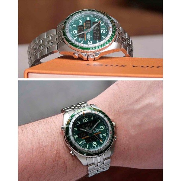 Relógio Citizen Promaster Wingman TZ10075D JQ8008-58W  - TREINIT
