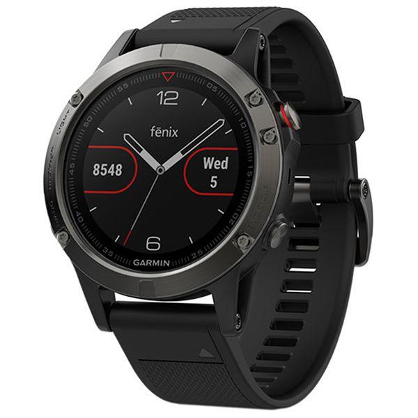 Relógio com GPS Garmin Fênix 5 Cinza Bundle - Smartwatch Multiesportivo + Cinta HRM-TRI  - Loja Prime