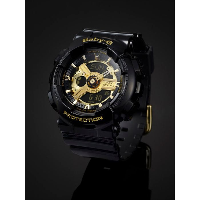 Relógio Feminino Casio Baby-G BA-110-1ADR Original Garantia  - TREINIT