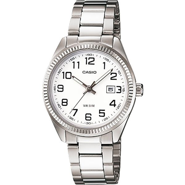 Relógio Feminino Casio LTP-1302D-7BVDF  Prata  - Loja Prime
