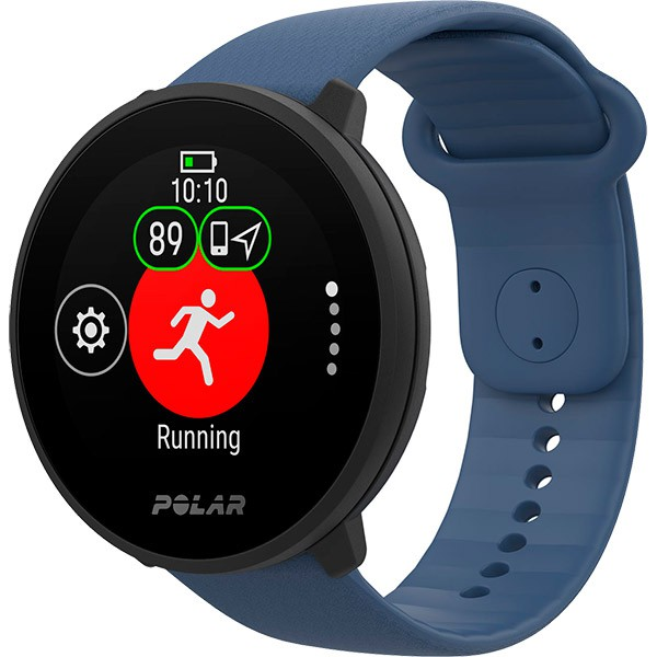 Relógio Fitness Monitor Cardíaco de Pulso Polar Unite Azul  - Treinit