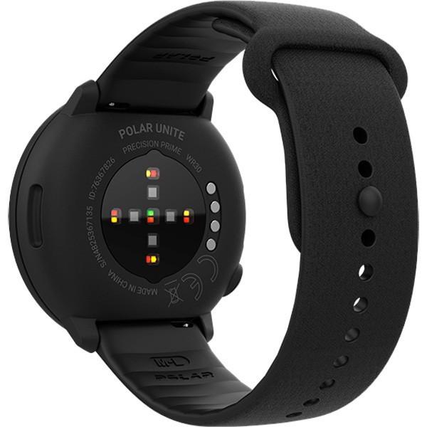 Relógio Fitness Monitor Cardíaco de Pulso Polar Unite Preto  - TREINIT