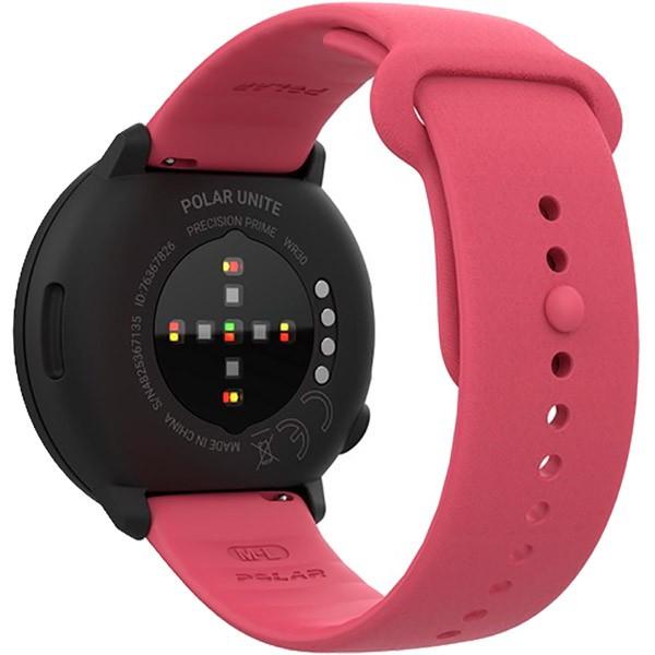 Relógio Fitness Monitor Cardíaco de Pulso Polar Unite Rosa  - TREINIT