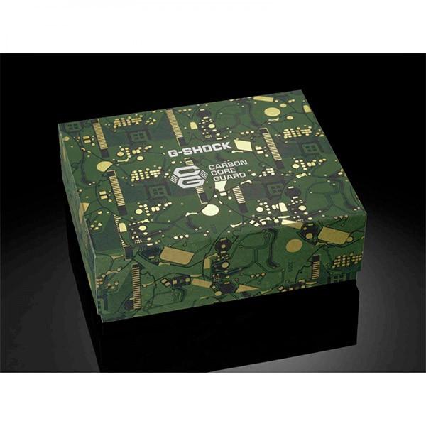 Relógio G-Shock DWE-5600CC-3DR Circuit Board Camouflage Carbon Core Guard  - TREINIT