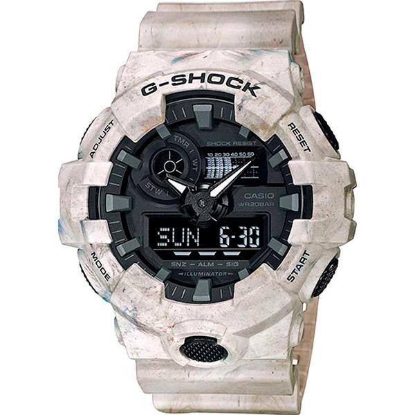 Relógio G-SHOCK GA-700WM-5ADR UTILITY WAVY MARBLE Series  - TREINIT