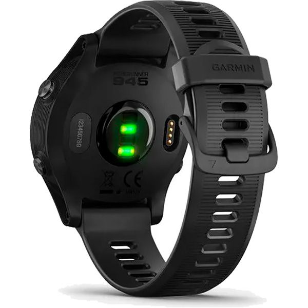 Relógio GPS c/ Monitor Cardíaco no Pulso Garmin Forerunner 945 Preto  - TREINIT
