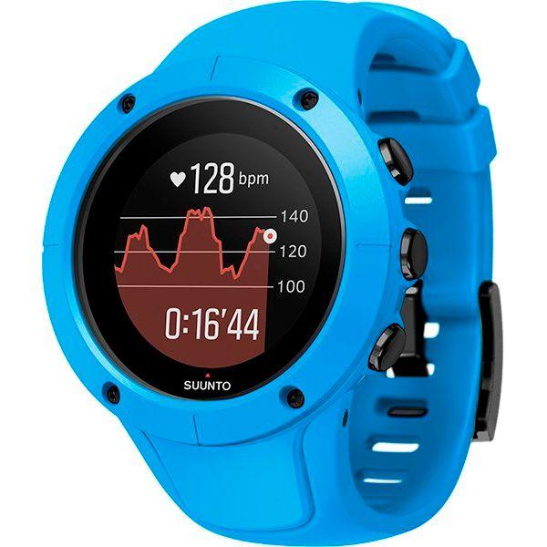 Relógio GPS c/ Monitor Cardíaco no Pulso Suunto Spartan Trainer Azul  - Loja Prime